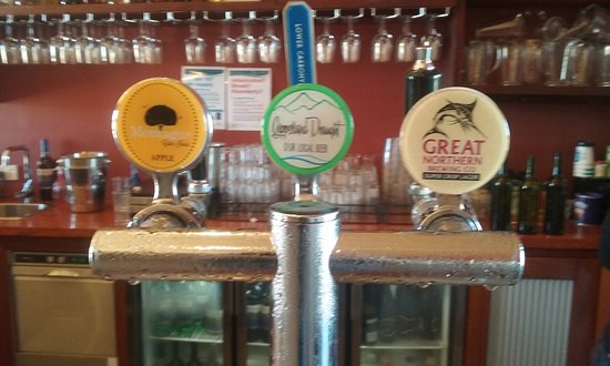 Maffra, Austrália: Beer selection.