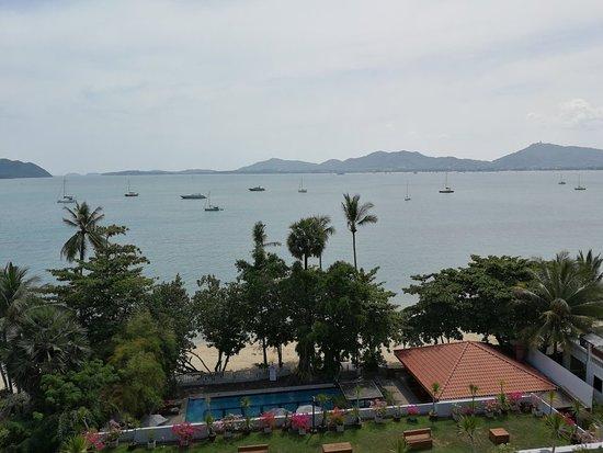 海邊旅館張圖片