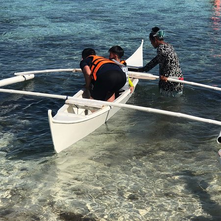 Baclayon, Philippines: Boat Service