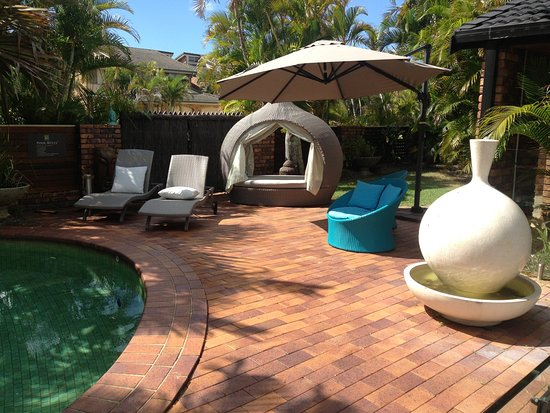 Ballina Palms Boutique Motel: pool and surrounds