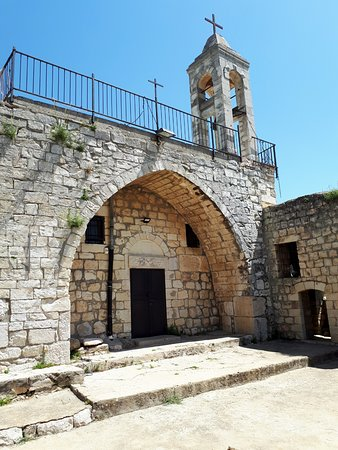 Jish, Israel: Baram - Maronite church