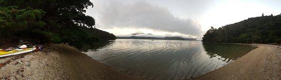 Anakiwa, New Zealand: Kenepuru Sound - camp