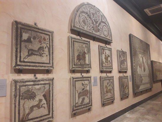 Museo de Zaragoza: Piezas romanas.