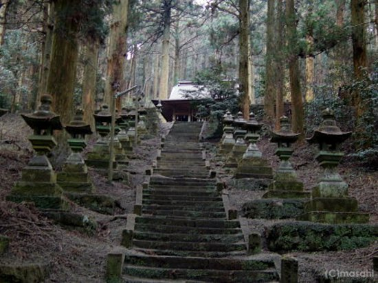 Kamishikimi Kumanoimasu Shrine: 上色見熊野座神社