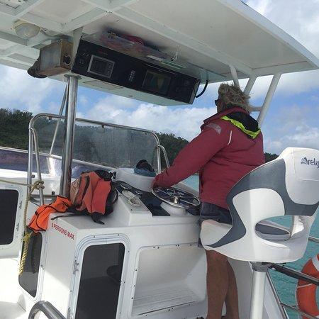 Giro in barca con fondo di vetro con Whitehaven Beach Photo