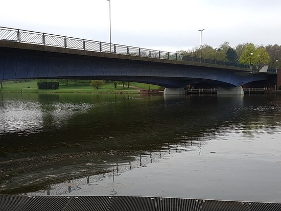 Münster, Alemania: Über die Brücke sind wir dann zurück