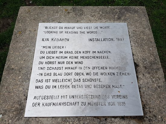 Münster, Alemania: Kunsterklärung