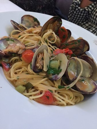 Fiorentino: Spaghetti Vongole