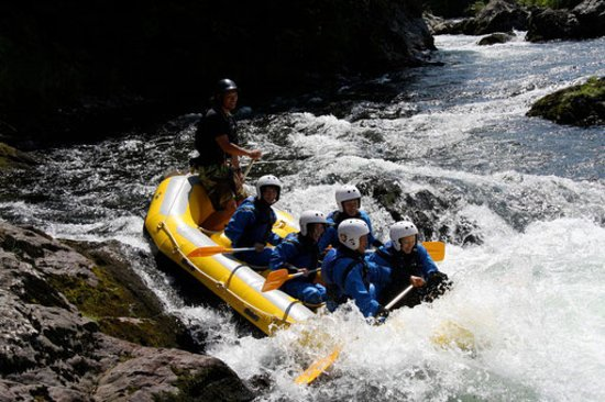 Furano, Giappone: Rafting