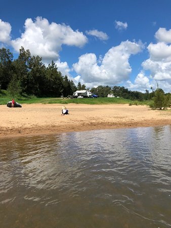 Kenilworth, Australien: Camping next to the Mary River