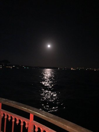 Cruise on a moonlit night along the Harbour.