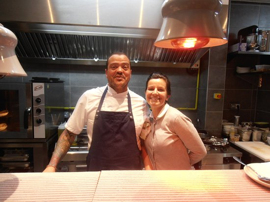 Comme Chez Soi Restaurant: A great husband & wife team.