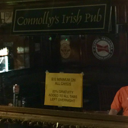 Connolly's Irish Pub, Greenville - Restaurant Reviews ...