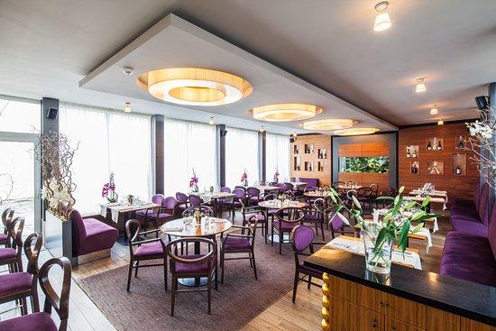 Litomysl, Çek Cumhuriyeti: Bohém Restaurant Litomyšl - interiér