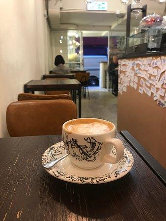 a fine coffee and nice service