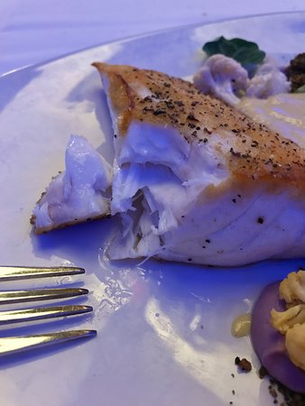 The Oceanaire Seafood Room : Pan Seared Wild Alaska Halibut