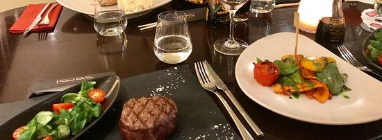 KOBE Steak Grill Sushi Restaurant Václavské nám.: Kobe tenderloin fillet