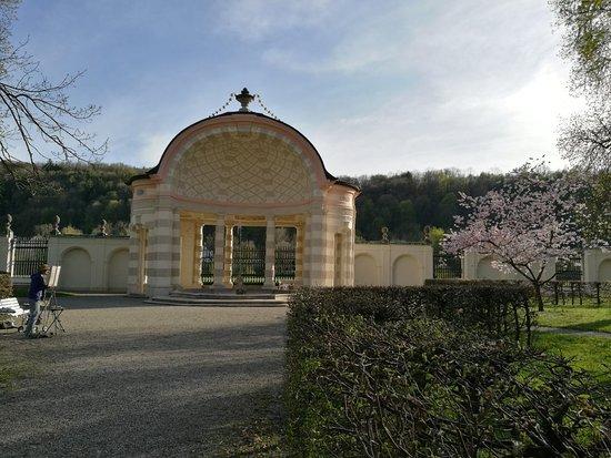 Hofgarten der Eichstätter Sommerresidenz