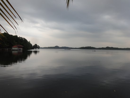 Dodanduwa, Sri Lanka: the lagoon which is next to Thambili Garden