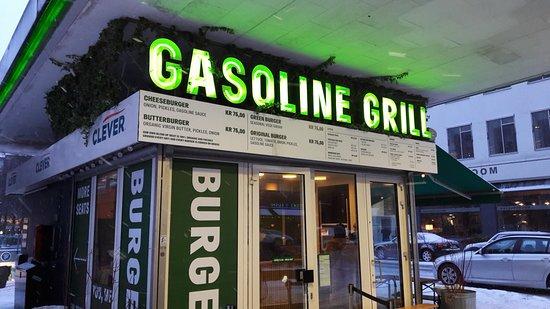 gasoline grill menu