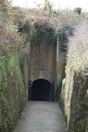 Pendennis Castle: Tunnel