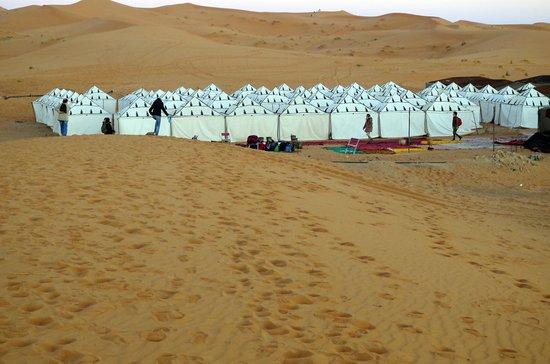 Hotel Nomad Palace: Campamento