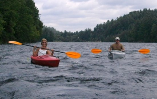 West Forks, ME: A little kayaking