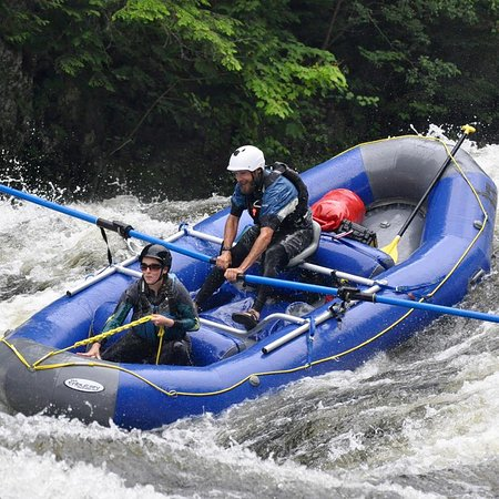 West Forks, ME: Whitewater rafting !