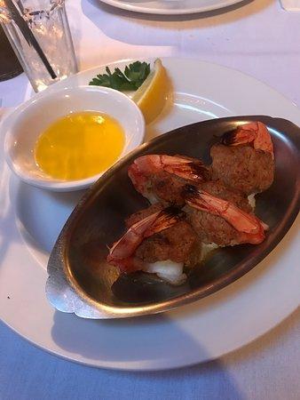 Bristol, RI: Delicious Baked Suffed Shrimp