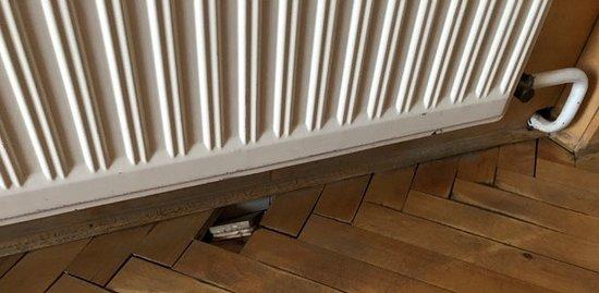 Haus Hirt: Boden eingefallen