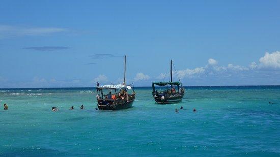 Shimoni, Kenya: Boote - schnorcheln - Tauchen.