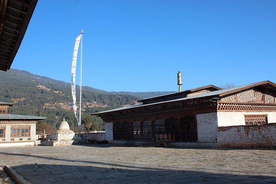 Jakar, Bhutan: the unassuming structure