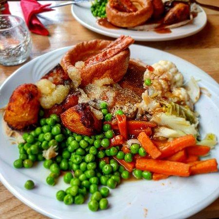 Blagdon, UK: The Burrington Inn