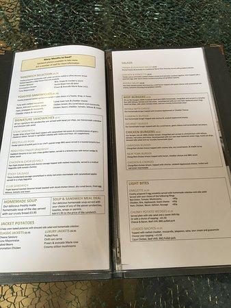 Port Carlisle, UK: More of menu