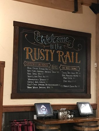 Mifflinburg, เพนซิลเวเนีย: Their welcome Beer Sign