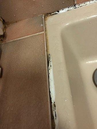 Amberieux-en-Dombes, فرنسا: Quelques détails qui ne donnent pas envie , malgré tout , les toilettes et les draps de lits éta