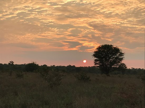 Gravelotte, South Africa: Sunrise on sleep out