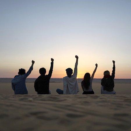 Best experience in desert