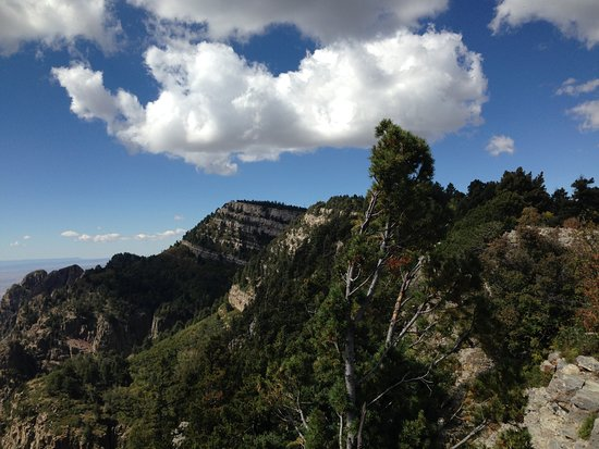 Sandia Peak Tramway: at the Peak