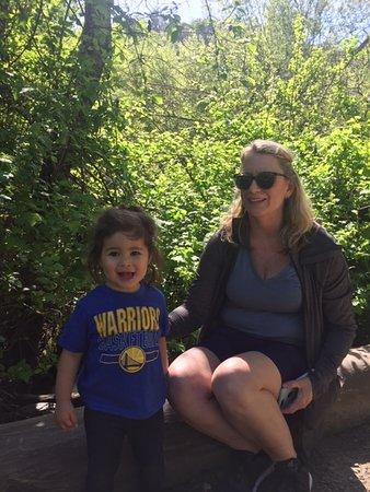 Berkeley, Californië: Along the trail