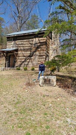 Bluefield, WV: Pioneer and Patriot Joseph Davidson's home, circa 1796