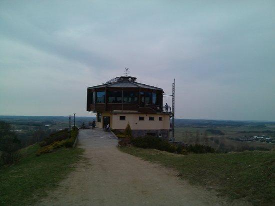 Goldap, Πολωνία: Zajazd Piękna Góra Rudziewicz - MENU w tej kawiarni ŻENADA, jedynie WC bezpłatne