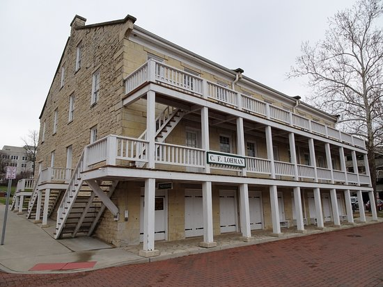 Jefferson Landing State Historic Site: Lohman Building