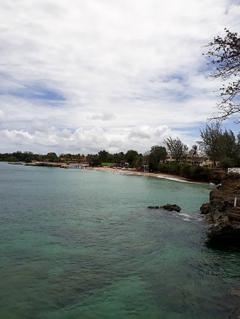 Crown Point Beach Hotel: View of Store Bay