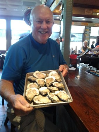 Saraland, AL: My first of three dozen oysters