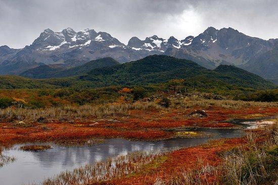 Tierra del Fuego, Şili: Magnificent valley views