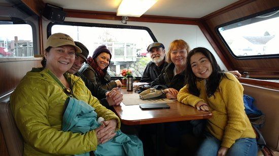 Puget Sound Express - Day Trips : Sales and Reservations partial team from Fort Worden, Port Townsend, WA
