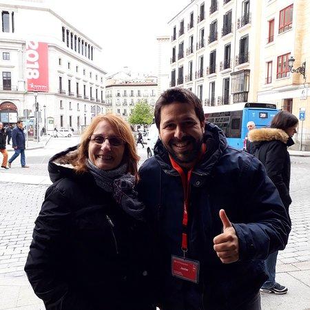 Descubriendo Madrid con Javier