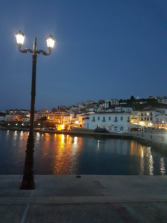 Pilos, اليونان: Lamp