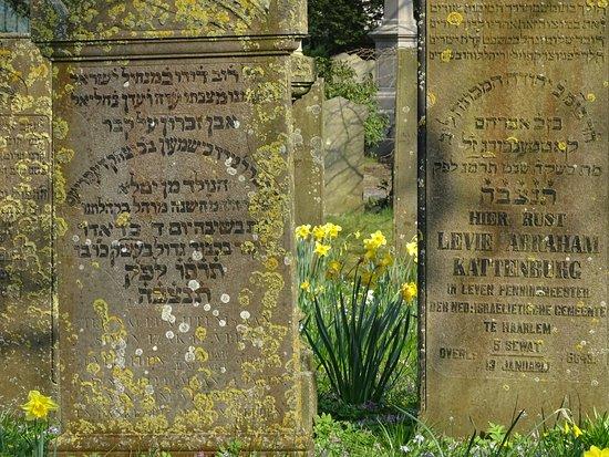 Haarlem, Nizozemsko: Joodse Begraafplaats-Algemene Begraafplaats Kleverlaan